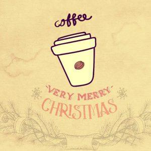 クリスマスに飲むコーヒー